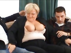 Cumshot, Old and Young, Mature, Czech