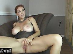 Big Boobs, Brunette, Masturbation, Mature