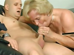 Blonde, Granny, Piercing
