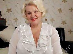 BBW, Blonde, Granny, Russian