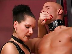 BDSM, German, Handjob, Masturbation