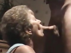 Blowjob, Mature, Facial, Granny