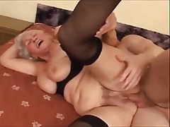 Creampie, Granny, Mature, MILF, Old and Young