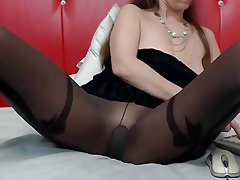 Mature, Pantyhose, Stockings