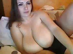 Webcam, Amateur, BBW, Masturbation, Big Boobs