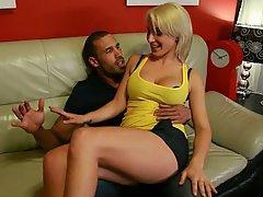 Ass Licking, Blonde, Blowjob, MILF, Wife