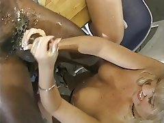 Group Sex, Handjob, Threesome, Interracial