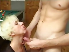 Blonde, Cumshot, Facial, Group Sex