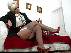 Masturbation, Stockings
