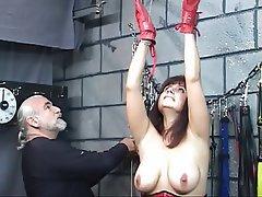 BDSM, Brunette, Pantyhose, Mature