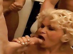 Ass Licking, Blowjob, Bukkake, Granny