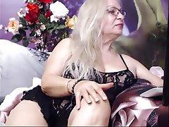 Blonde, Granny, Webcam