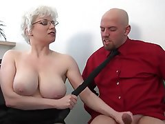 Foot Fetish, Handjob, Mature, Spanking