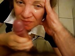 Amateur, Blowjob, Facial, Handjob