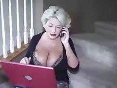 Big Boobs, Blonde, Cumshot, MILF