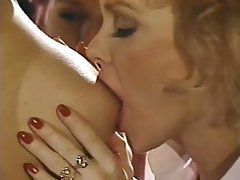 Group Sex, Lesbian, Stockings, Strapon