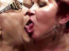 Group Sex, Granny, Mature, Gangbang, Old and Young