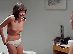 Brunette, Celebrity, Small Tits, Vintage