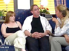 Amateur, Cunnilingus, German, Mature, Threesome