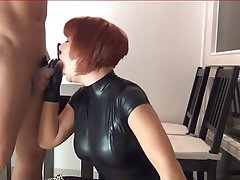 German, Latex, Mature