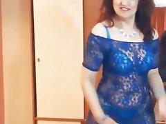 Lingerie, Mature, MILF, Stockings, Webcam